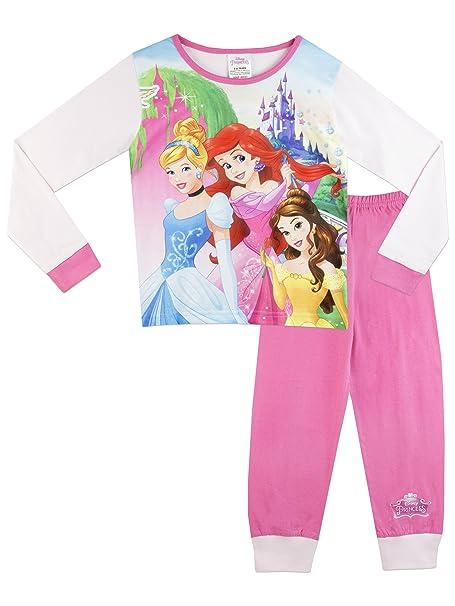 Princesas Disney - Pijama para niñas - 7-8 Años
