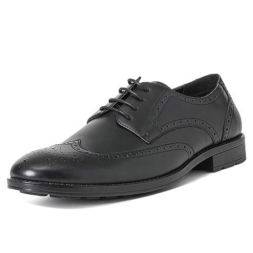 Herren Queensberry Jacob Wingtip Brogues Hochzeit Formal Arbeit Schuhe