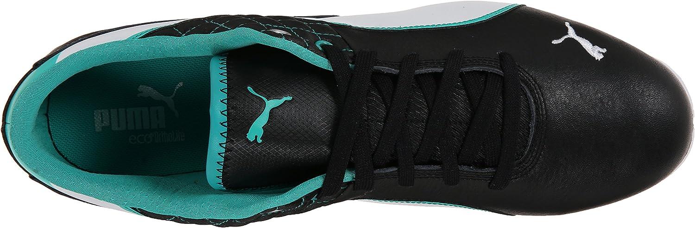 PUMA Mens Mercedes Drift Cat 6 Leather Lace-Up Fashion Sneaker