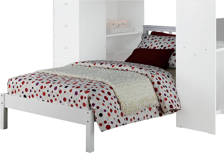 Amazon Com Acme Freya White Twin Bed Furniture Decor