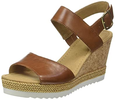 66c5a5bd797d Gabor Women s Fashion Wedge Heels Sandals  Amazon.co.uk  Shoes   Bags