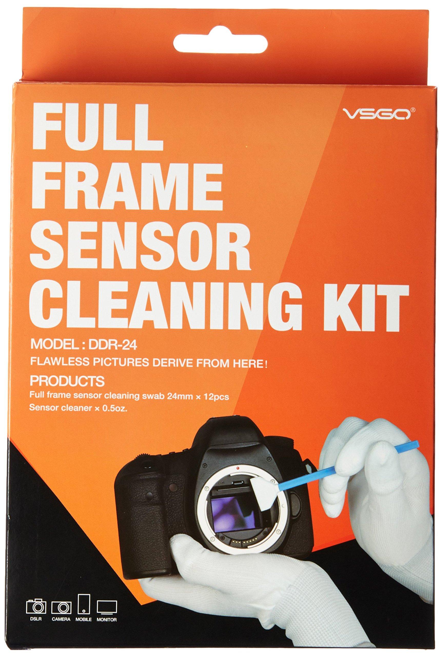 Ues DSLR Digital Camera Full Frame (CCD/CMOS Sensor Swab ddr-24Kit (Box of 12x 24mm Swab + 15ml Sensor Cleaner) product image