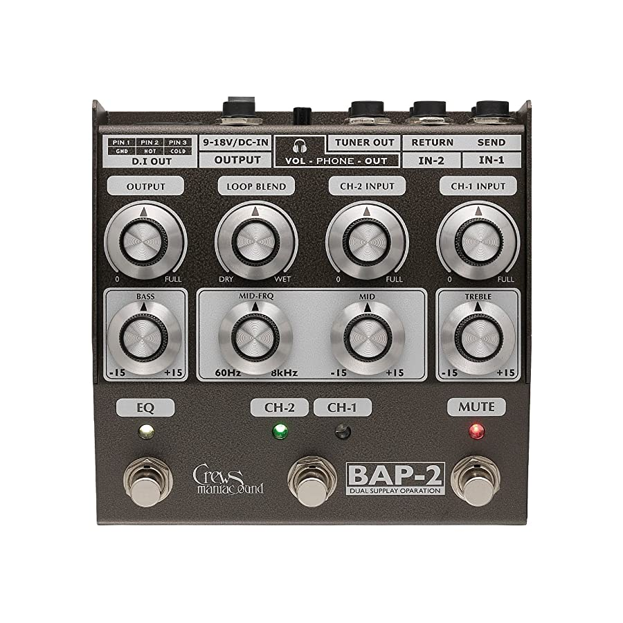 リンク:BAP-2 Bass Foot Preamp
