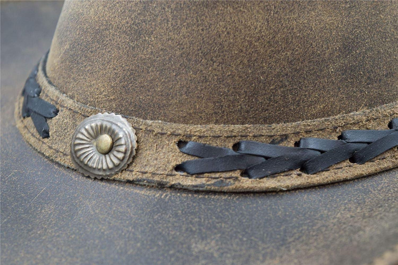 Outdoor-Hut aus Rindsleder Vintage-Optik Walker and Hawkes