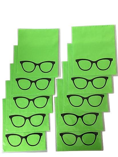 10 x - gafas de sol de paños de microfibra para limpieza de ...