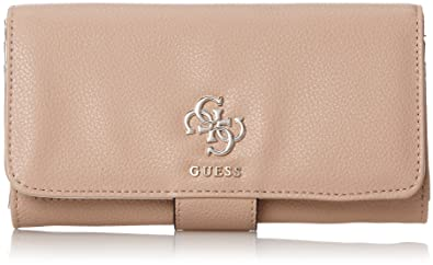 Guess - Slg Wallet, Carteras Mujer, Marrón (Tan), 2x10x20 cm (