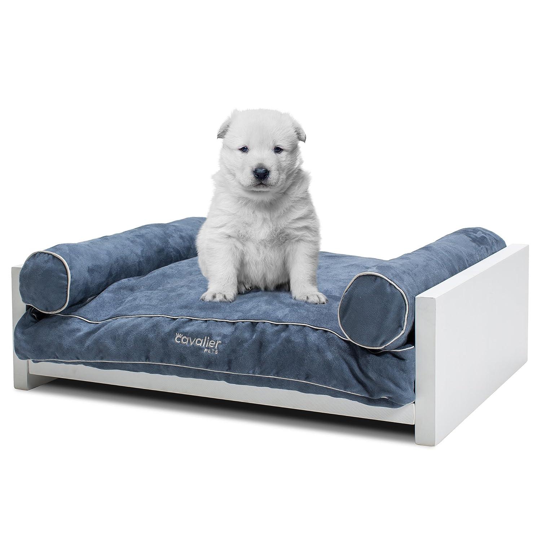 Amazon Pet Sofa Bed Bamboo Frame and Memory Foam Cushion