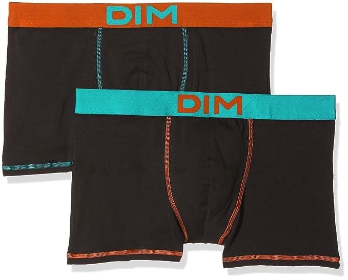 DIM Boxer mix & colors x 2, Hombre, Negro (Tamaño del fabricante:5): Amazon.es: Ropa y accesorios