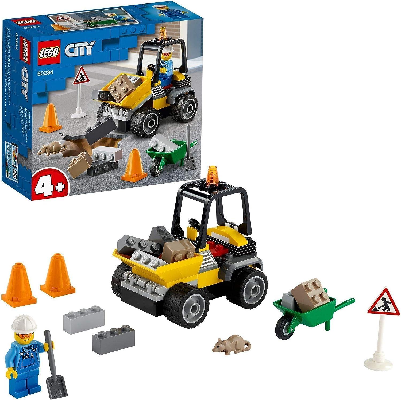 LEGO 60275 City Polizeihubschrauber Spielzeug mit Polizisten und Gauner Minifiguren f/ür Jungen und M/ädchen ab 4 Jahren