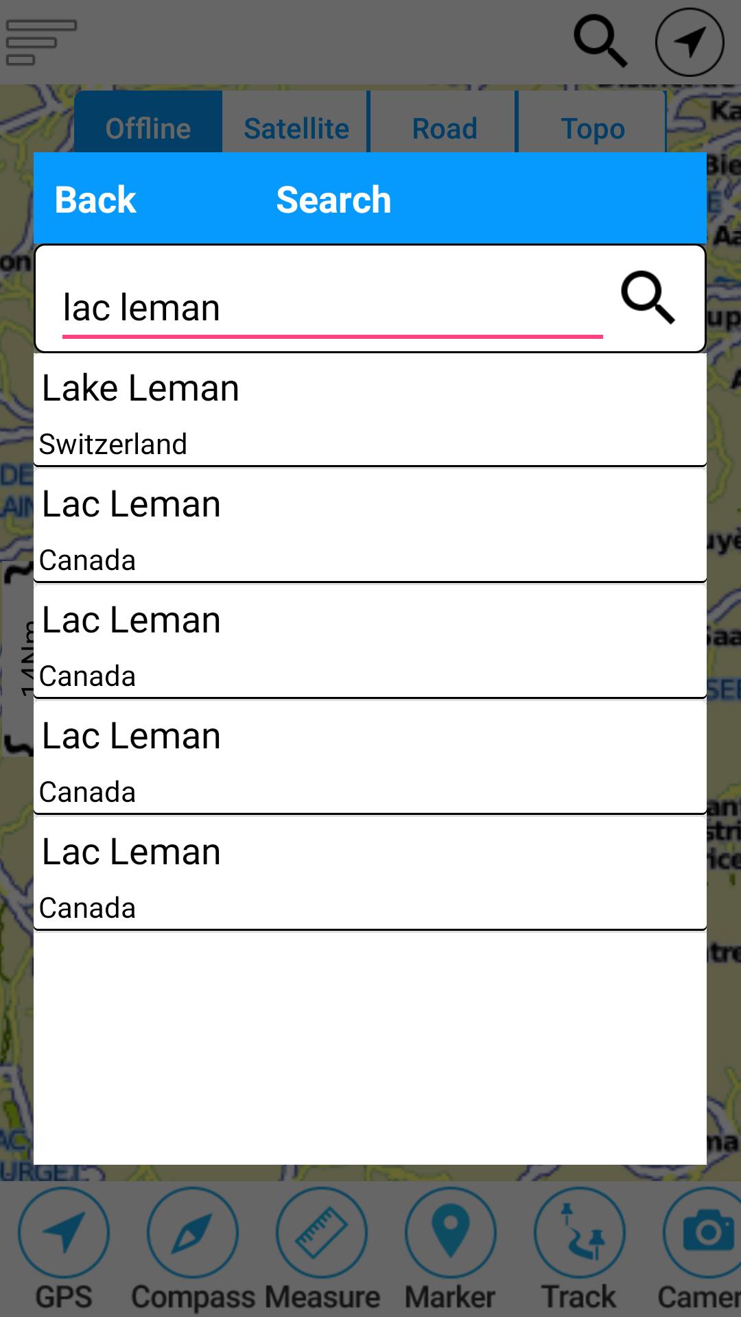 Lake Geneva Offline GPS Nautical Chart: Amazon.es: Appstore para Android