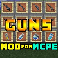 Mods: Guns Mods for MCPE