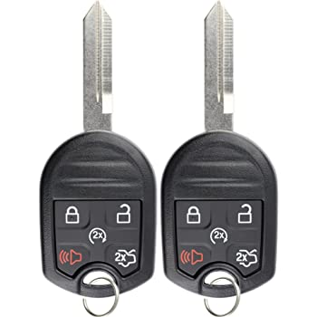 4 Button Chrysler 200 Smart Proximity Remote Key 68155686AB 68155686AA Includes Duracell Battery Inside