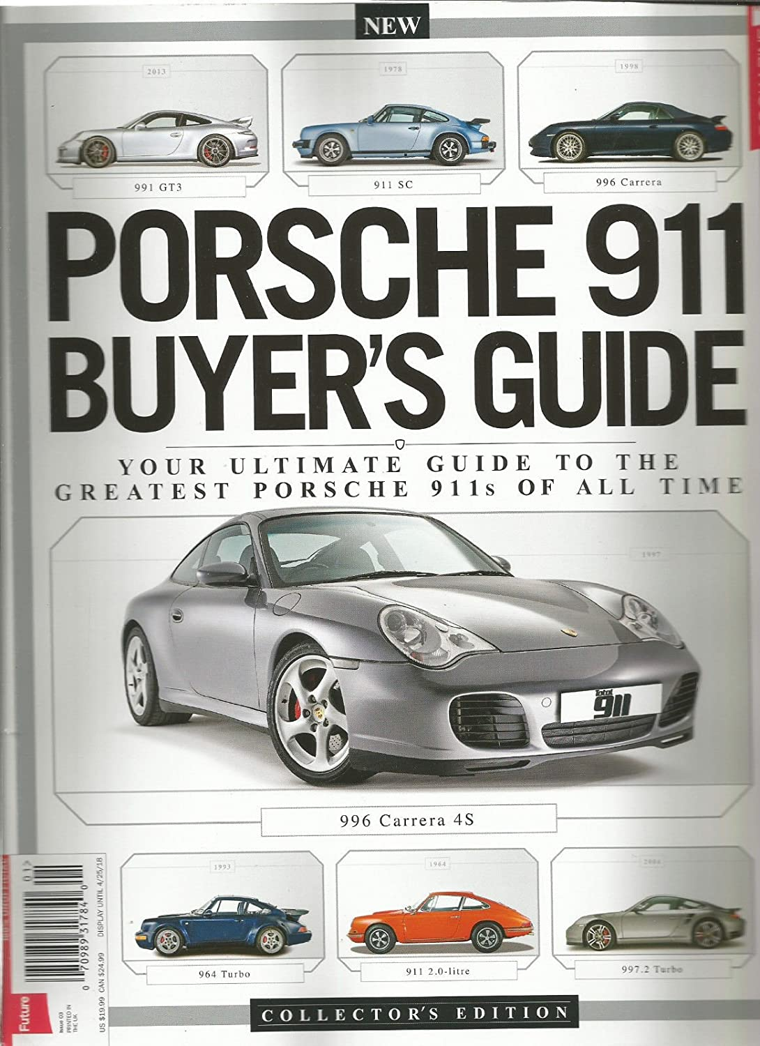 Amazon.com: PORSCHE 911 BUYERS GUIDE MAGAZINE COLLECTORS EDITION ISSUE 3 2018: Everything Else