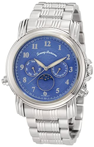 20c684e6fac Buy Tommy Bahama Swiss Men's TB3041 Chasing The Moon Swiss Moon Phase Blue  Analog Watch Online at Low Prices in India - Amazon.in