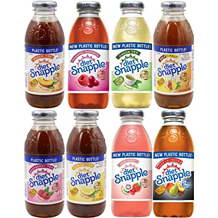 does diet snapple use any alcohol