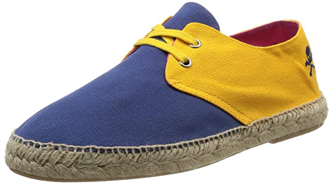 Scalpers Colour Power Espadrille, Alpargatas para Hombre, Yellow, 40 EU: Amazon.es: Zapatos y complementos