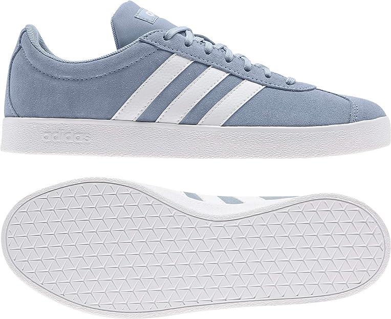 adidas Damen Vl Court 2.0 Fitnessschuhe: Amazon.de: Schuhe ...