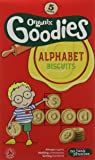Organix Goodies From 12 Months Organic Alphabet Biscuits 5 x 25 g (Pack of 6, Total 30 Packets)