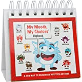 My Moods, My Choices Flipbook for Kids; 20 Different Moods/Emotions; Help Kids Identify Feelings and Make Positive Choices; Laminated Pages