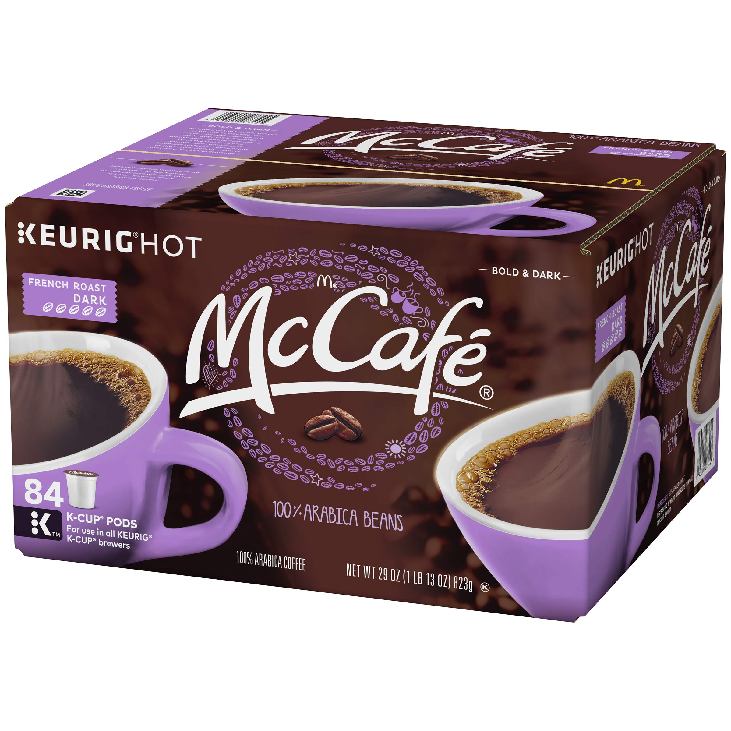 McCafe French Roast Keurig K Cup Coffee Pods (84 Count) by McCafe (Image #4)