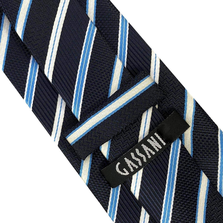 A righe GASSANI Cravatta Uomo blu blau//hellblau//Wei/ß Medium