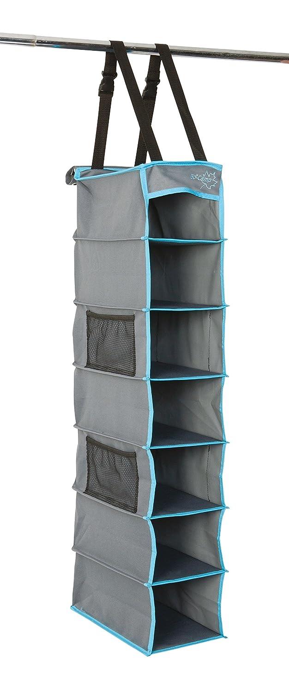 Bo-Camp - Organizador Multifuncional para Tienda de campaña, 7 Compartimentos, Color Gris 1709375