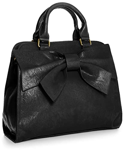 Big Handbag Shop Women Designer Boutique Large Bow Top Handle ...