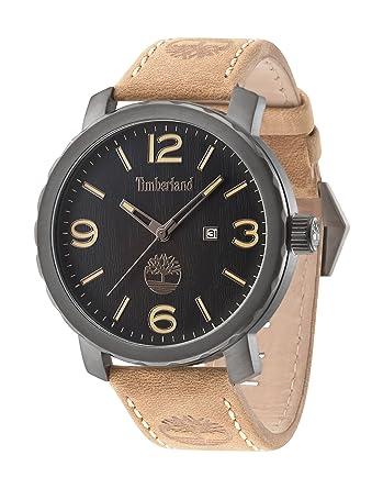 Timberland 14399XSU/02 - Reloj , correa de cuero color marrón: Amazon.es: Relojes