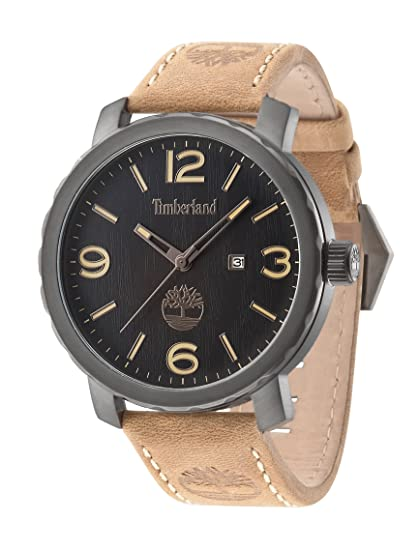 Timberland 14399XSU/02 - Reloj , correa de cuero color marrón: Timberland: Amazon.es: Relojes