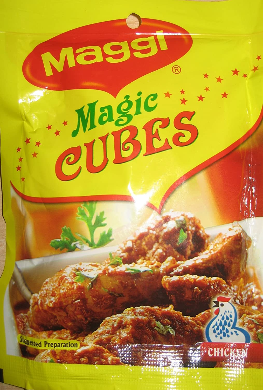 Amazon com : Maggi Magic Cubes, Chicken, 40g 10 cubes ( Pack of 2