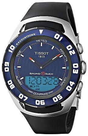 amazon com tissot sailing touch mens blue face multi function watch rh amazon com tissot t touch sailing manual tissot sailing touch user manual