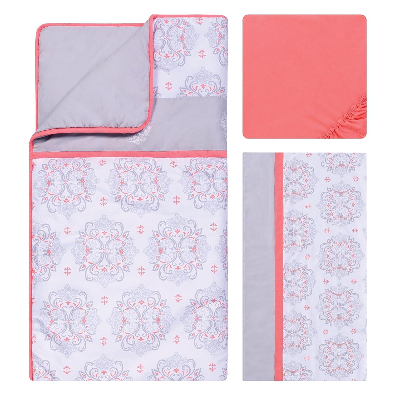 Coral Trend Lab Valencia 3 Piece Crib Bedding Set