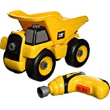 Toysmith Caterpillar Cat Take A Part Dump Truck