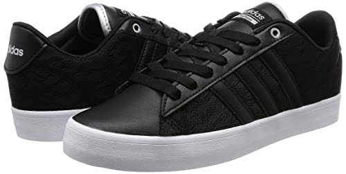 hot sale online 2cf06 8e611 adidas Cloudfoam Daily QT LX W, Sneaker a Collo Basso Donna, Nero  (Negbas Negbas Plamet), 40 EU  Amazon.it  Scarpe e borse