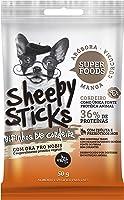 Sheepy Sticks, Bifinhos de Cordeiro, Manga-Abóbora-Cúrcuma The French Co. Raça Adulto, Sabor Cordeiro