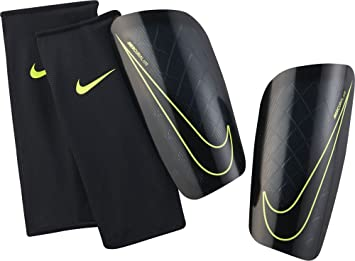 7966f5f5373e Nike Mercurial Lite Shin Guards  Amazon.co.uk  Sports   Outdoors