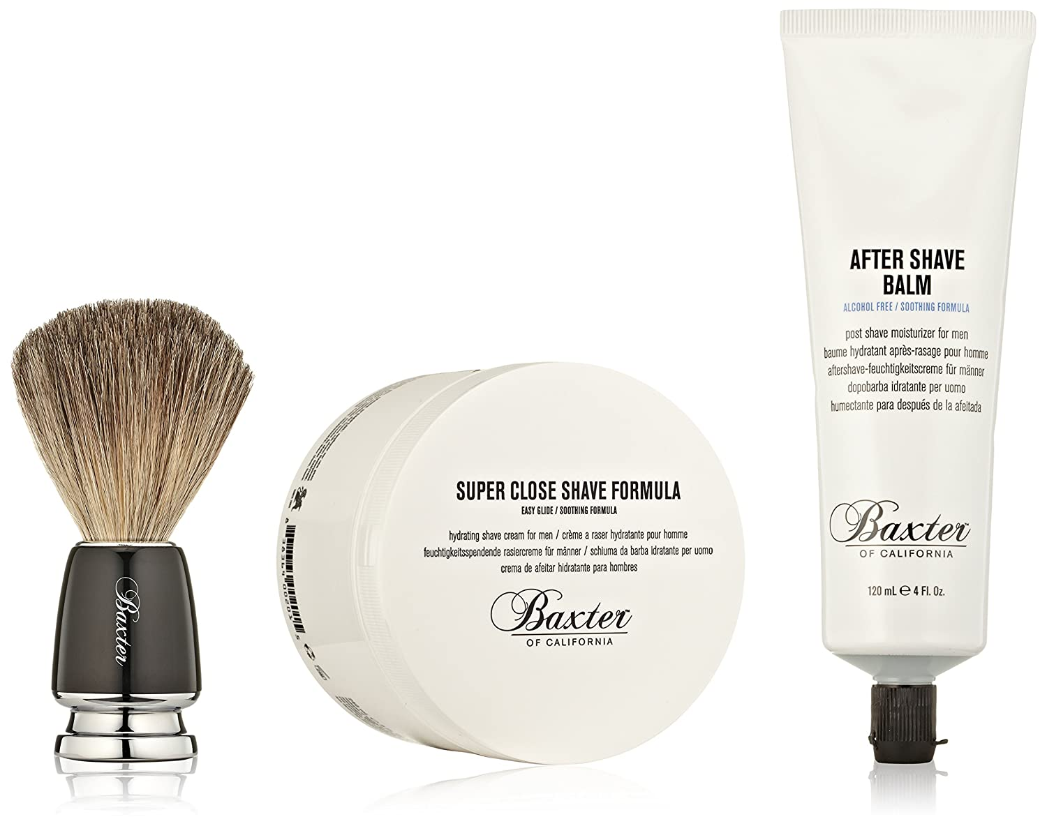 Aftershave & Pre-shave New Mens Baxter Of California Travel Shaving Brush Health & Beauty