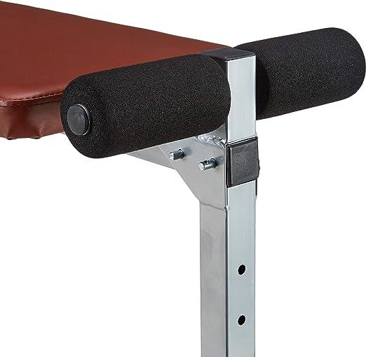 ScSPORTS 1150015 Banco de Ejercicios Plegable Color Rojo