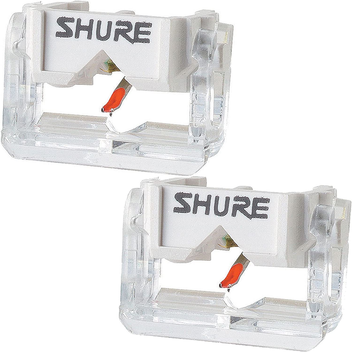 2x Shure N447Z Replacement Stylus N44-7Z Needle for M44-7 M447 Cartridge 4330609034