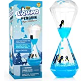 YoYa Toys Liquimo Penguin - Liquid Motion Bubbler for Kids and Adults - Penguin Theme - Satisfying Sensory Toys for Stress an