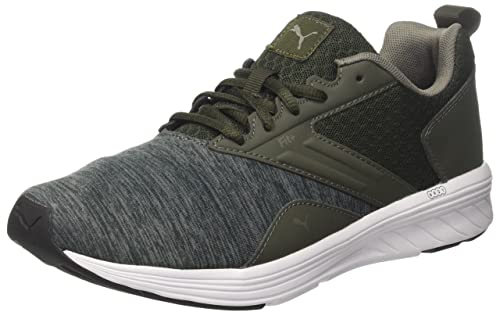 6a7687ff3a5e Puma Unisex s Nrgy Comet Forest Night-Castor Gray and Running Shoes 8  UK India