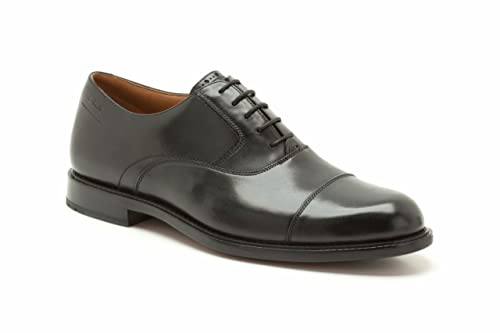 Clarks Dorset Boss Wide Mens Formal Shoes 5.5 UK H Black
