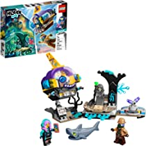 LEGO Hidden Side J.B.'s Submarine 70433, Augmented Reality (AR) Ghost Toy, Featuring a Submarine, App-Driven Ghost…