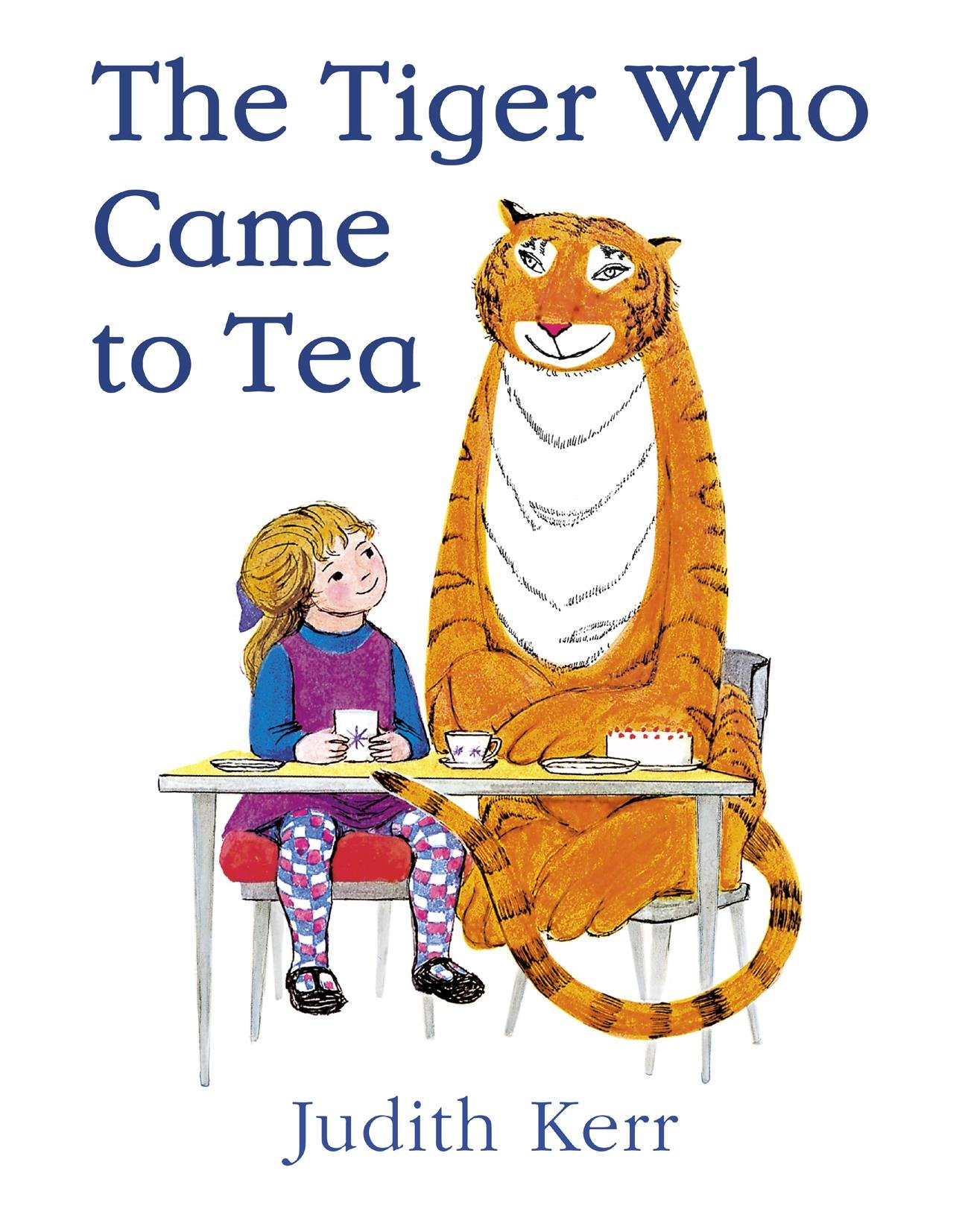 Image result for tiger who came for tea image