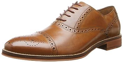 Johnston & Murphy Men's Conard Cap-Toe Oxford Men's Shoes SEYmj