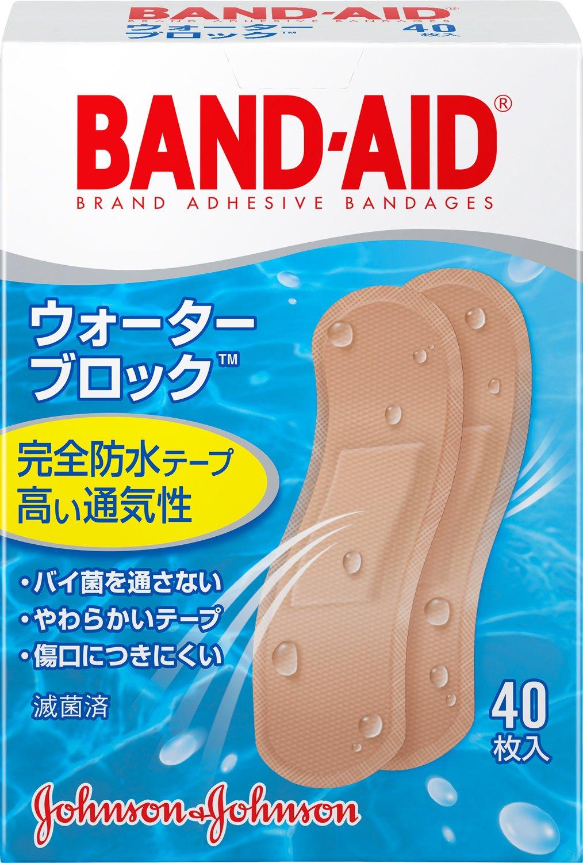 BAND-AID(バンドエイド) 救急絆創膏 ウォーターブロックのサムネイル