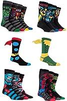 Men's 16 Pair Marvel Avengers Assemble Fresh Sock Drawer Collection Socks