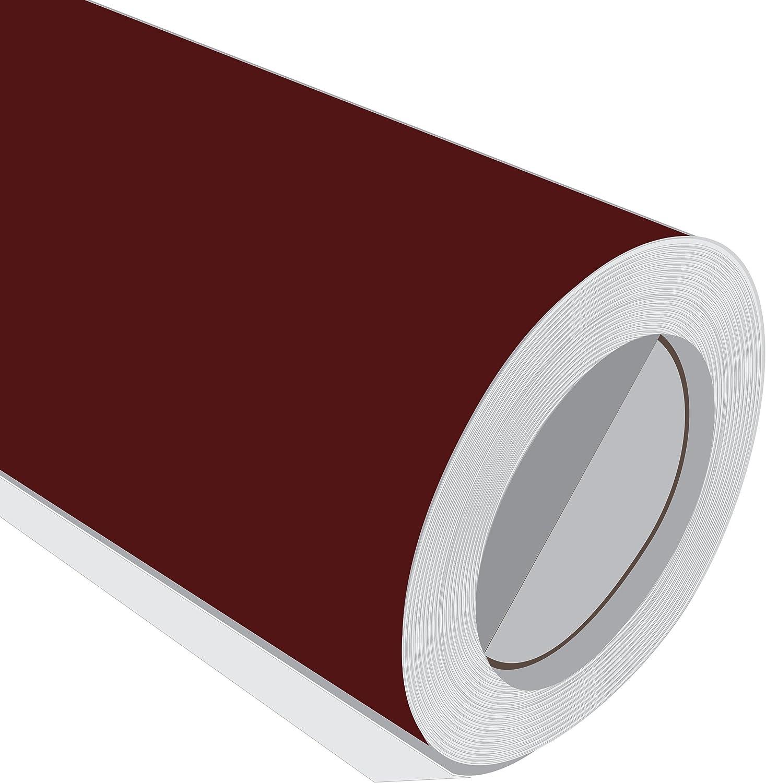 2 Metre (2 m) rollo de HD Burdeos Brillante 610 mm de ancho Vinilo autoadhesivo: Amazon.es: Hogar