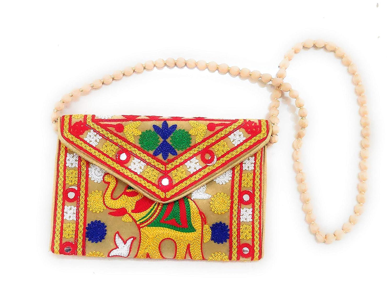 Suvasana Indian Handicraft Rajasthani Jaipur Bohemian art Sling Bag   Bohemian Style    Hippie Handbags  Shoulder bags