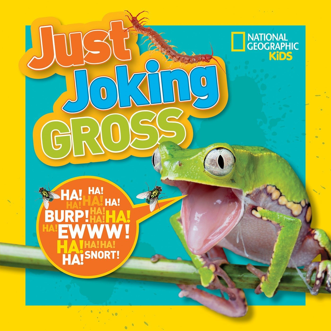 National Geographic Kids Just Joking Gross: National Geographic Kids:  9781426327179: Amazon.com: Books